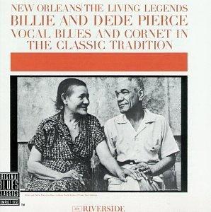 billie & de de pierce - new orleans living legends CD obc riverside 9 tracks used mint