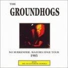 groundhogs - no surrender / razors edge tour 1985 CD 1998 HTD new import
