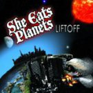 she eats planets - liftoff CD 11 tracks used mint autographed