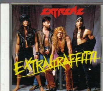 extreme - extragraffitti CD 1990 A&M pony canyon japan 7 tracks used mint