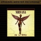 nirvana - in utero GOLD CD 1993 Mobile Fidelity Sound System used