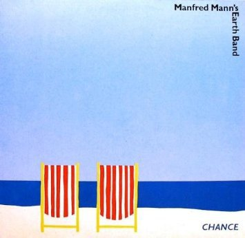 manfred mann's earth band - chance CD 1986 castle communication 9 tracks used mint