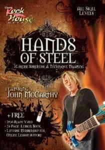 hands of steel featuring john mccarthy DVD 2008 rock house method