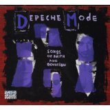 depeche mode - songs of faith and devotion collector's edition CD + DVD 2006 rhino reprise used mint