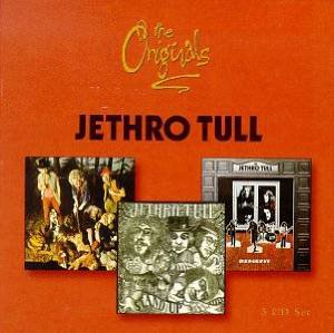 jethro tull - the originals; this was / stand up / benefit CD 3-disc box 1997 EMI Chrysalis used