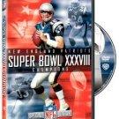 Super Bowl XXXVIII - New England Patriots Champions DVD NFL warner 2004 new