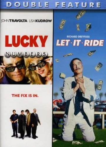 lucky numbers + let it ride (double feature) DVD 2008 paramount lions gate used mint