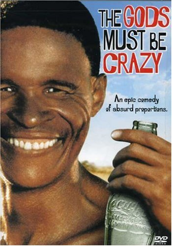 the gods must be crazy starring nixau + marius weyers DVD 2004 sony used mint