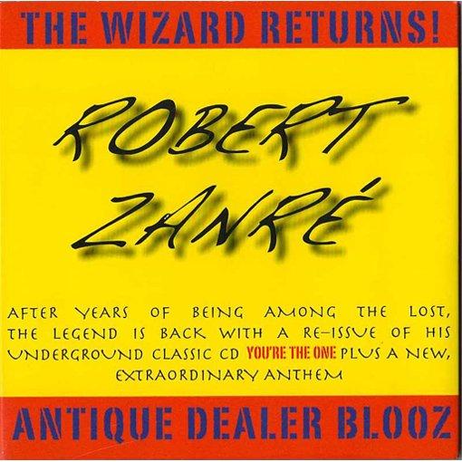 robert zanre - the wizard returns! antique dealer blooz CD used mint