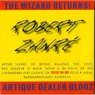 robert zanre - the wizard returns! antique dealer blooz CD used mint
