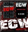 The Rise and Fall of ECW + One Night Stand DVD ECW collector's pack used mint