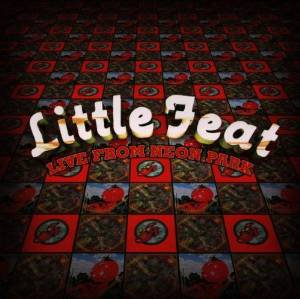 little feat - live from neon park CD 2-discs 1996 BMG zoo 21 tracks used mint