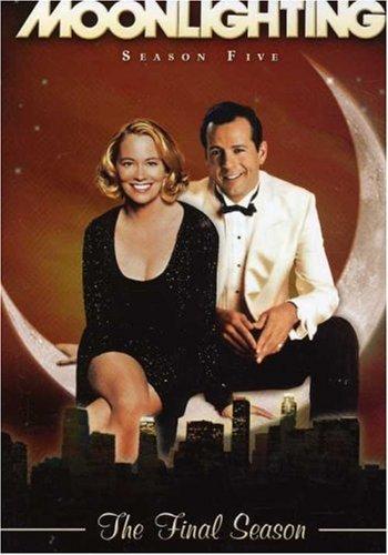 moonlighting - season five the final season DVD 3-disc set lionsgate abc used