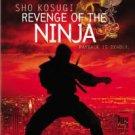 revenge of the ninja - sho kosugi DVD 1993 MGM used mint