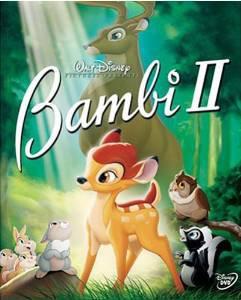 bambi II DVD 2006 disney used mint