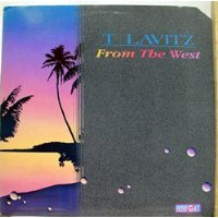t lavitz - from the west CD 1987 passport 9 tracks used mint