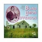 blind lemon jefferson - best of CD wolf records austria 23 tracks used
