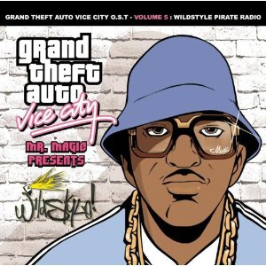 grand theft auto vice city O.S.T. volume 5 wildstyle pirate radio CD 2002 sony
