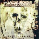 overkill - bloodletting CD 2000 metal-is sanctuary BMG 10 tracks used mint
