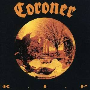 coroner - R.I.P. CD 1991 noise sanctuary 13 tracks used mint