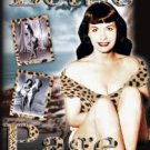 bettie page - girl in the leopard print bikini DVD 2004 passport video used mint