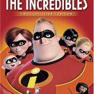 incredibles DVD 2-disc collector's edition fullscreen 2005 pixar used mint