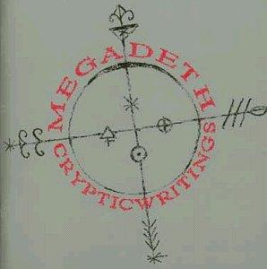 megadeth - cryptic writings HDCD 1997 capitol 12 tracks used mint