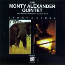 monty alexander quintet - ivory & steel CD 1980 concord jazz 9 tracks used mint