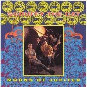 scruffy the cat - moons of jupiter CD 1988 relativity 16 tracks used mint