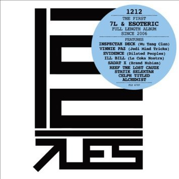 7L & esoteric - 1212 CD 2010 fly casual 12 tracks used mint