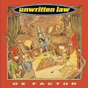 unwritten law - oz factor CD 1996 epic sony 12 tracks used mint