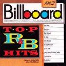 billboard top R&B hits 1963 - various artists CD 1989 rhino 10 tracks used mint