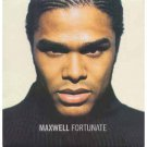 maxwell - fortunate CD single 1999 interscope sony 2 tracks used mint