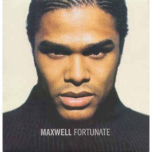 maxwell - fortunate CD single 1999 interscope sony 2 tracks used mint