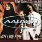 aaliyah - the one i gave my heart to / hot like fire / death CD 1997 atlantic 6 tracks