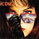 icon - right between the eyes CD 1989 2008 atlantic wounded bird 11 tracks used mint