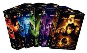 babylon 5 complete seasons 1-5 DVD 2009 warner used