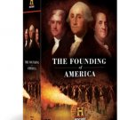 founding of america - kelsey grammar + aidan quinn DVD 14-disc set 2009 A&E home video used mint