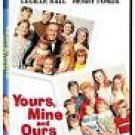 yours mine and ours - lucille ball + henry fonda DVD 2001 MGM 111 mins NYSC color used mint