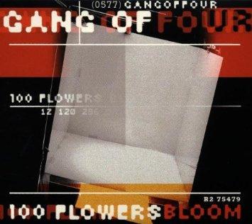 gang of four - 100 flowers bloom CD 2-discs 1998 rhino 40 tracks used mint