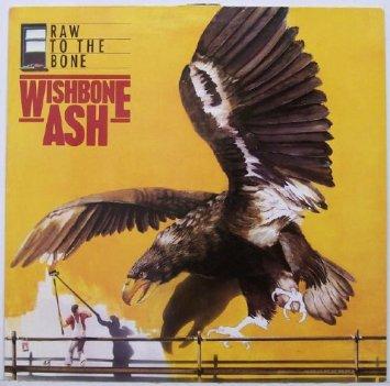 wishbone ash - raw to the bone LP metronome germany used