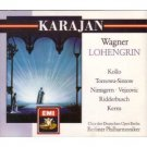 wagner - lohengrin - karajan + berliner philharmoniker 4CD set 1972 1988 EMI used mint