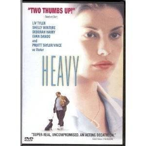 heavy - liv tyler + shelly winters DVD 2001 lions gate used mint