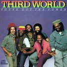 third world - you've got the power CD 1982 columbia 9 tracks used mint