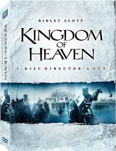 kingdom of heaven - a ridley scott film starring orlando bloom 4DVD director's cut 2006 used min
