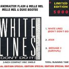 grandmaster flash & melle mel & duke bootee - white lines Mini-CD limited edt castle 3 tracks