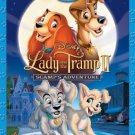 lady and the tramp II - scamp's adventure Blu-ray + DVD 2012 disney used mint