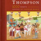 richard thompson - 1000 years of popular music DVD + 2CDs 2006 cooking vinyl new