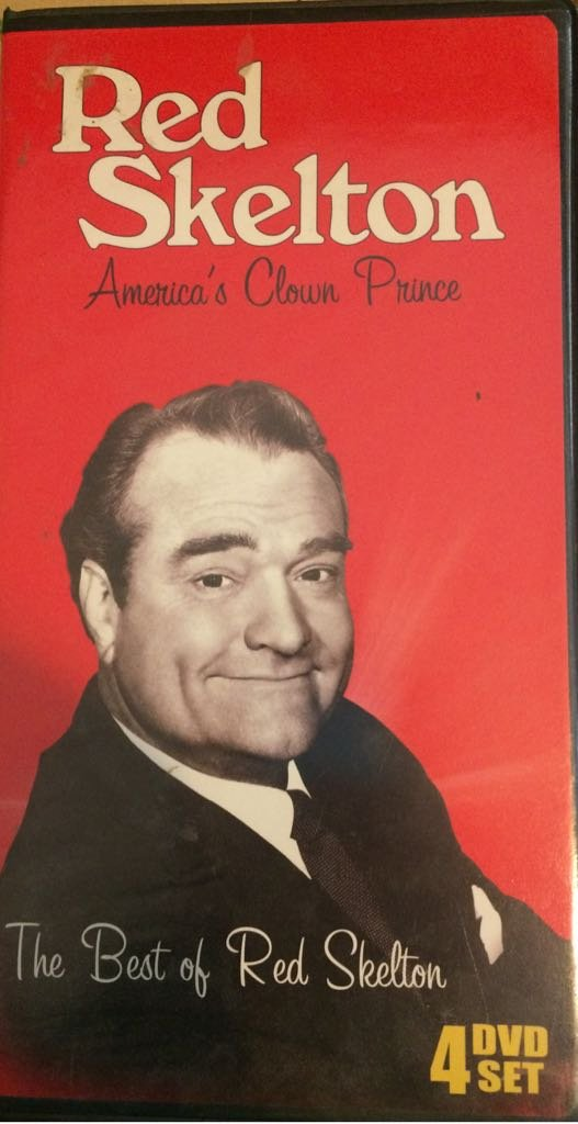 best of red skelton - america's clown prince 4-DVD boxset 2008 timeless 310 mins new