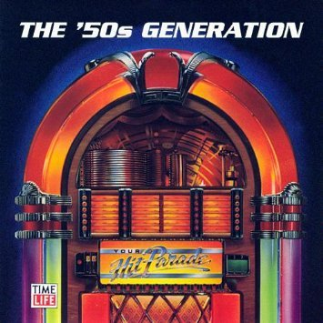 your hit parade the '50s generation - various artists CD 1993 MCA time life 24 tracks used mint